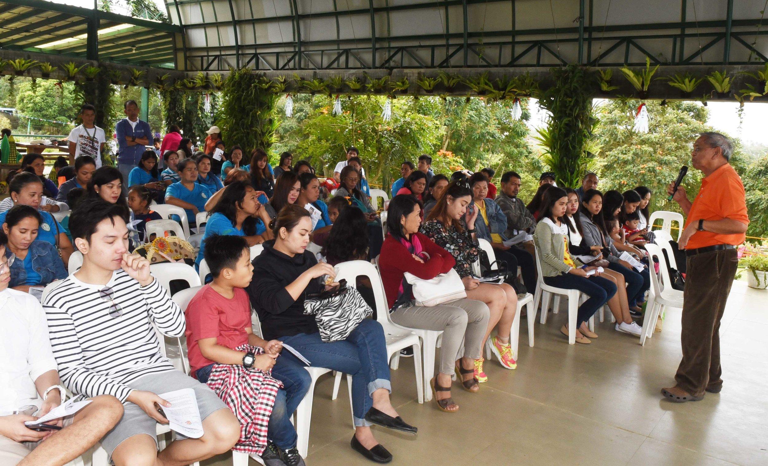 Dr. Jose Pepito M. Cunanan lectures on agri farming