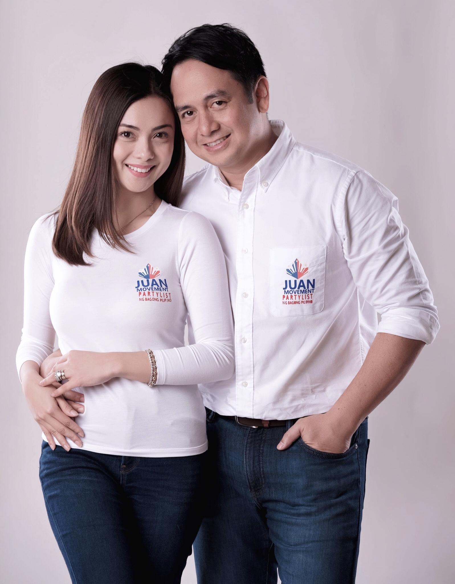Nico and Zyrene Valencia have become closer to Arnell Ignacio who pledges to support the couple's advocaies through Juan Movement PartyList ng Bagong Piliipino