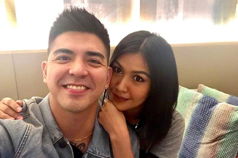 Former lovers Mark Herras and Teresita Ssen Marquez