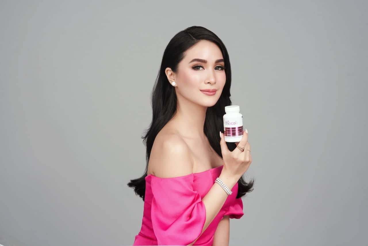 Heart Evangelista-Escudero is the face of Thiocell