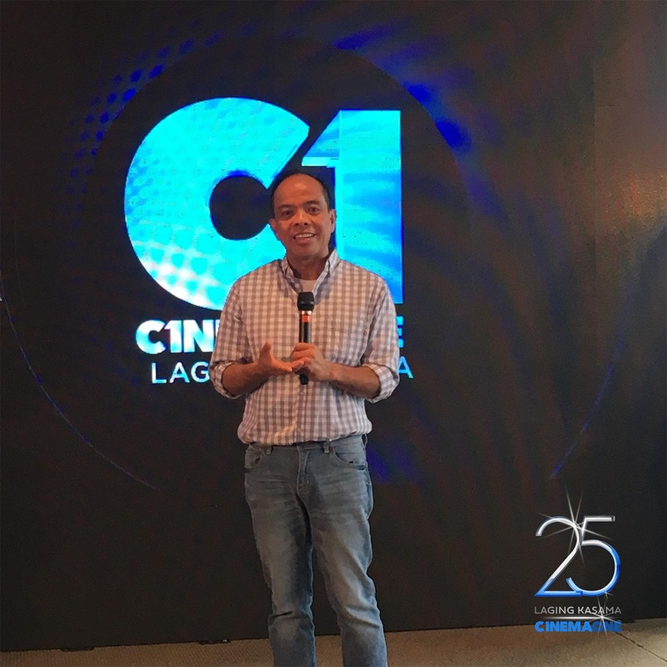 Cinema One channel head Ronald Arguelles.jpg