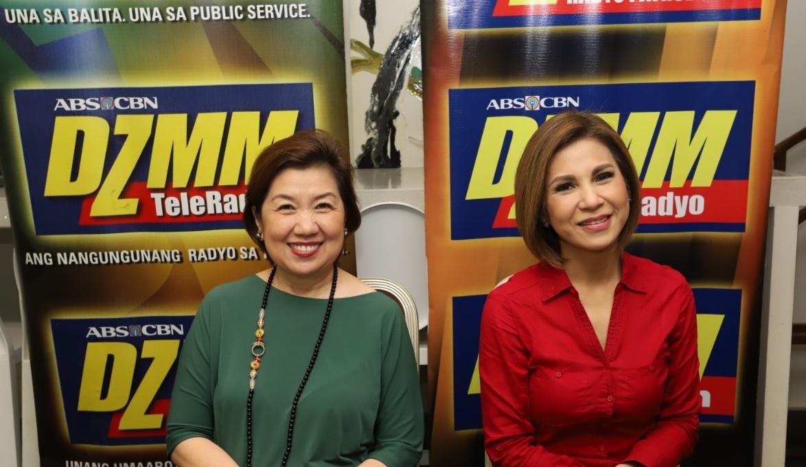 ALKFI managing director Susan Afan and Bantay Bata 163 program director Jing Castañeda