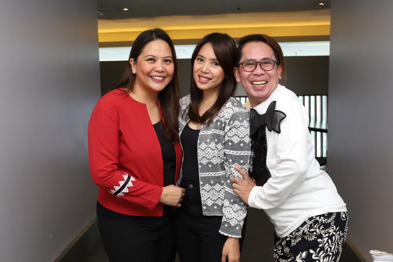 Dra. Luisa Ticzon-Puyat, Niña Corpuz, and Ahwel Paz of Good Vibes_
