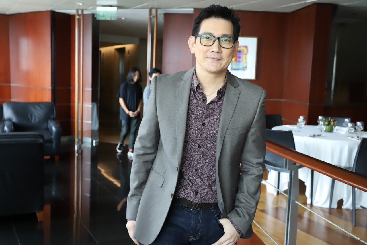 Richard Yap is glad he's back in show business
