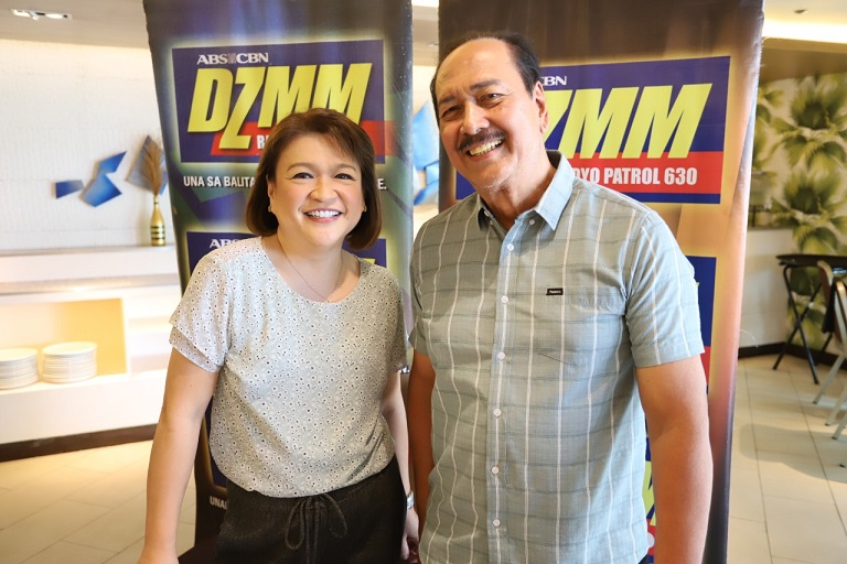 Winnie Cordero and Ariel Ureat are your companions Monday to Friday 3 p.m on DZMM