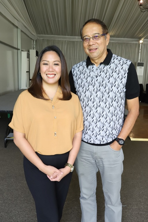 Rica Lazo and Danny Buenafe tell about Good Job every Saturday, 2 p.m on DZMM