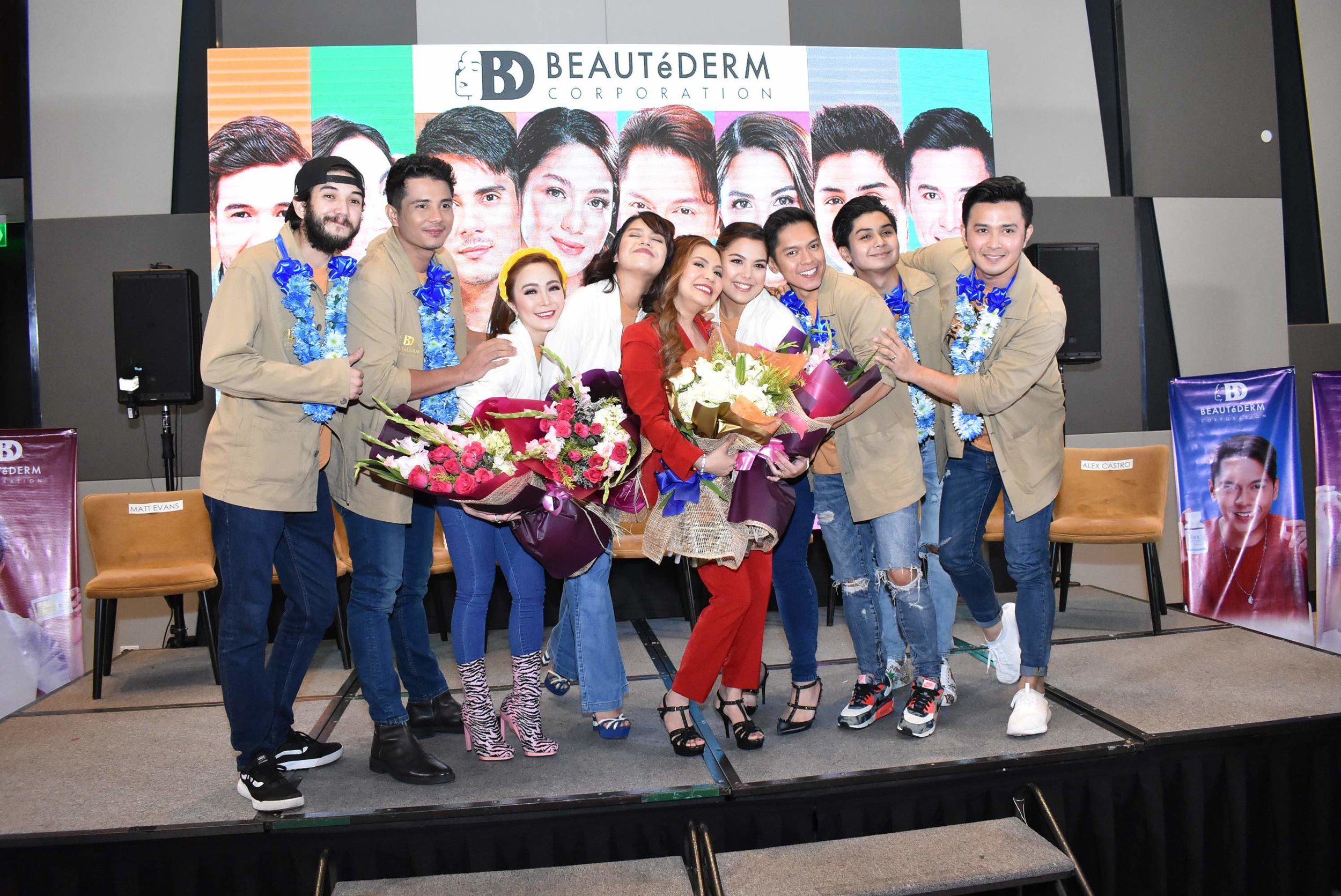 Rhea Anicoche-Tan and the Star Magic talents now ambassadors of Beautederm
