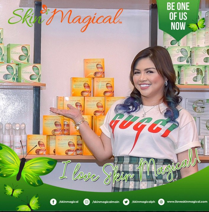 After years of struggle, Ghie is now a successful online marketer of her own line of beauty products