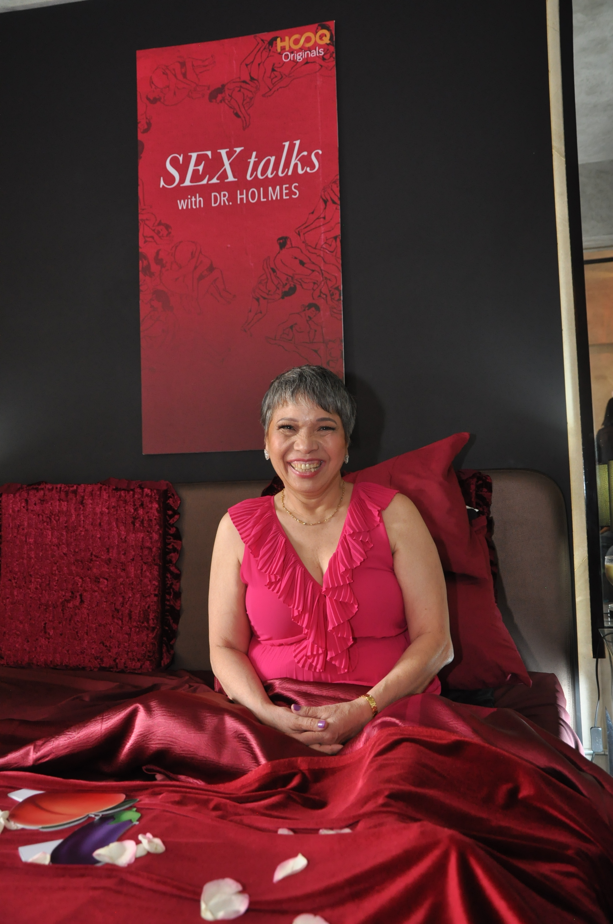 Margie Holmes during the press launch of Sex Talks with Dr. Holmes