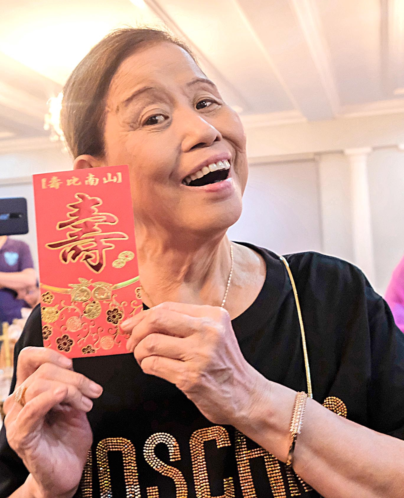 Mother Lily Y. Monteverde turned 81 and celebrated her birthdday with a celebrity screening of  Mina-anud