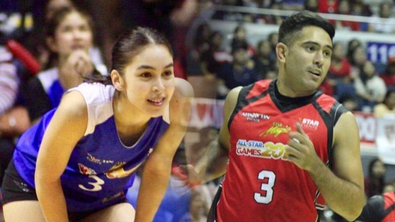 Controversial stars Julia Barretto and Gerald Anderson have the same number on their jerseys
