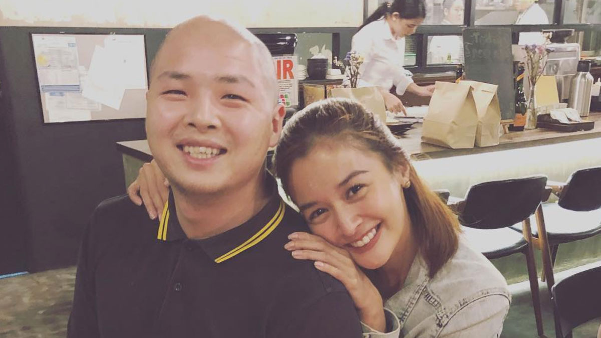Ha[[y together: businessman Perry Choi and Kapuso actress Kris Bernal