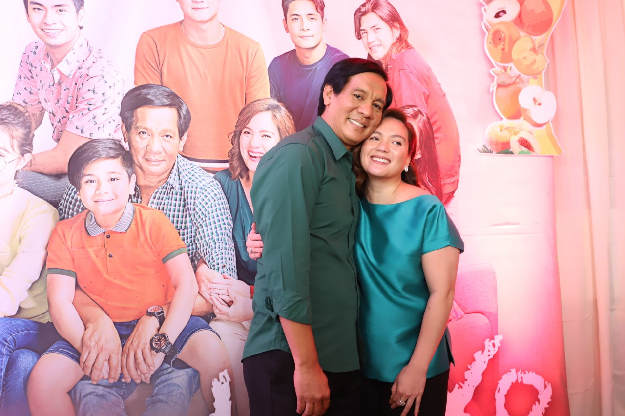 Joey Marquez and Sylvia Sanchez play husband and wife