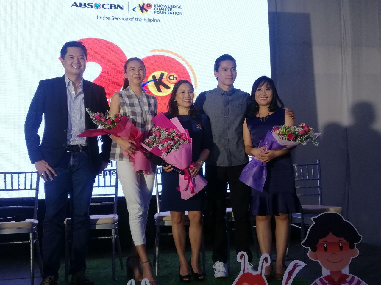 Maymay Entrata and Enchong Dee are just two of the stars that are featured in some of the shows of Knowledge Channel