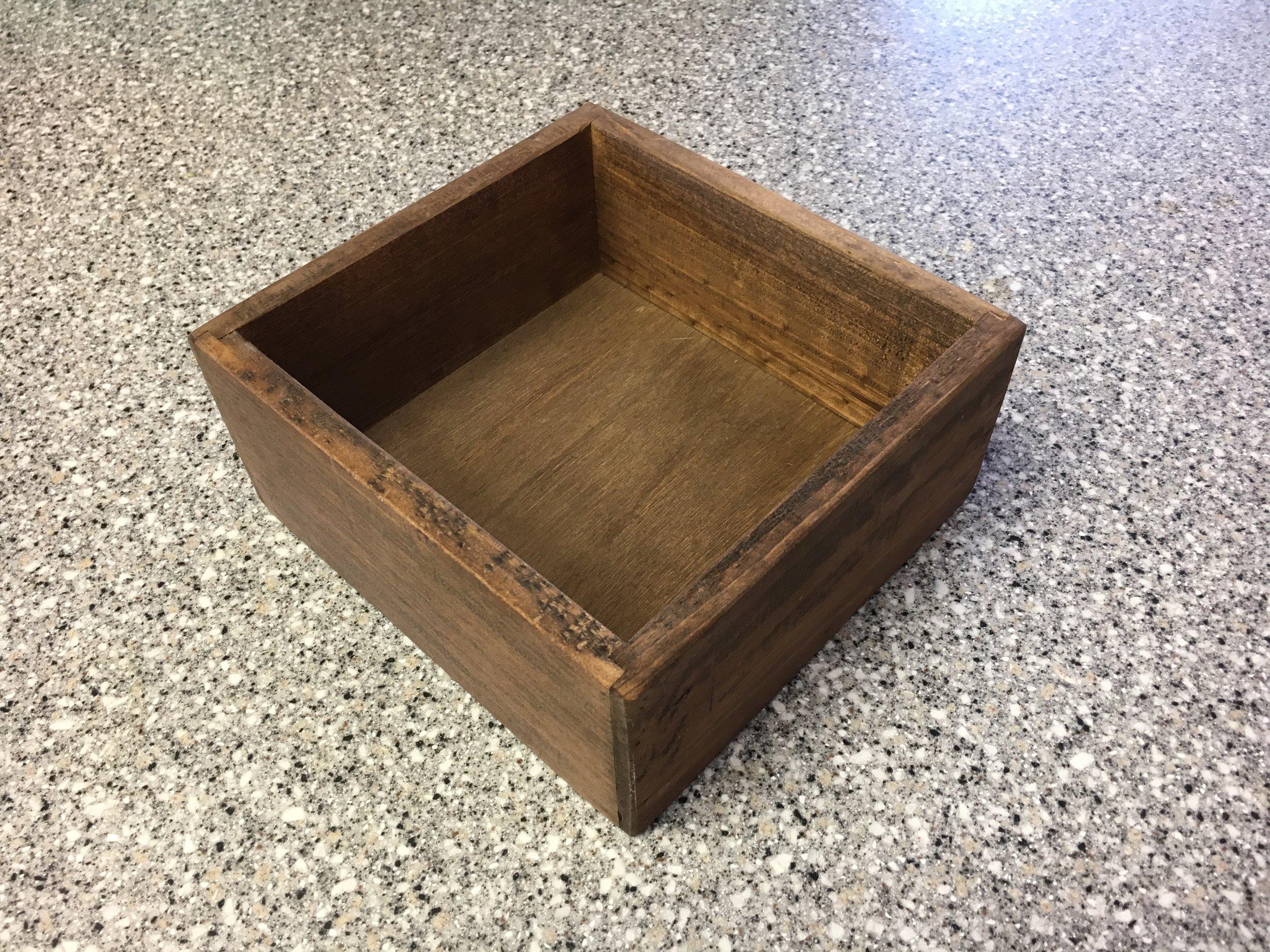 Small Wooden Box CJEREMIASON