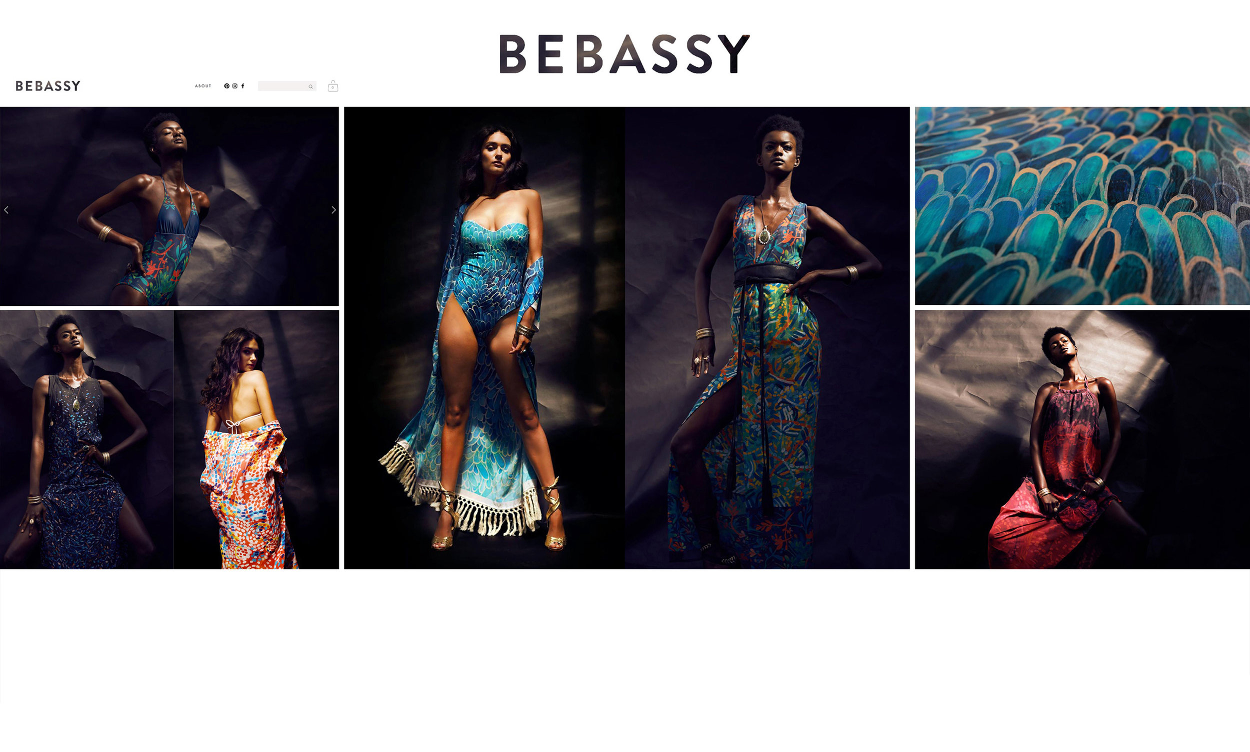 BEBASSY    Sustainable fashion label creation and branding. Launches 2018  Heidi Green: Creative Director