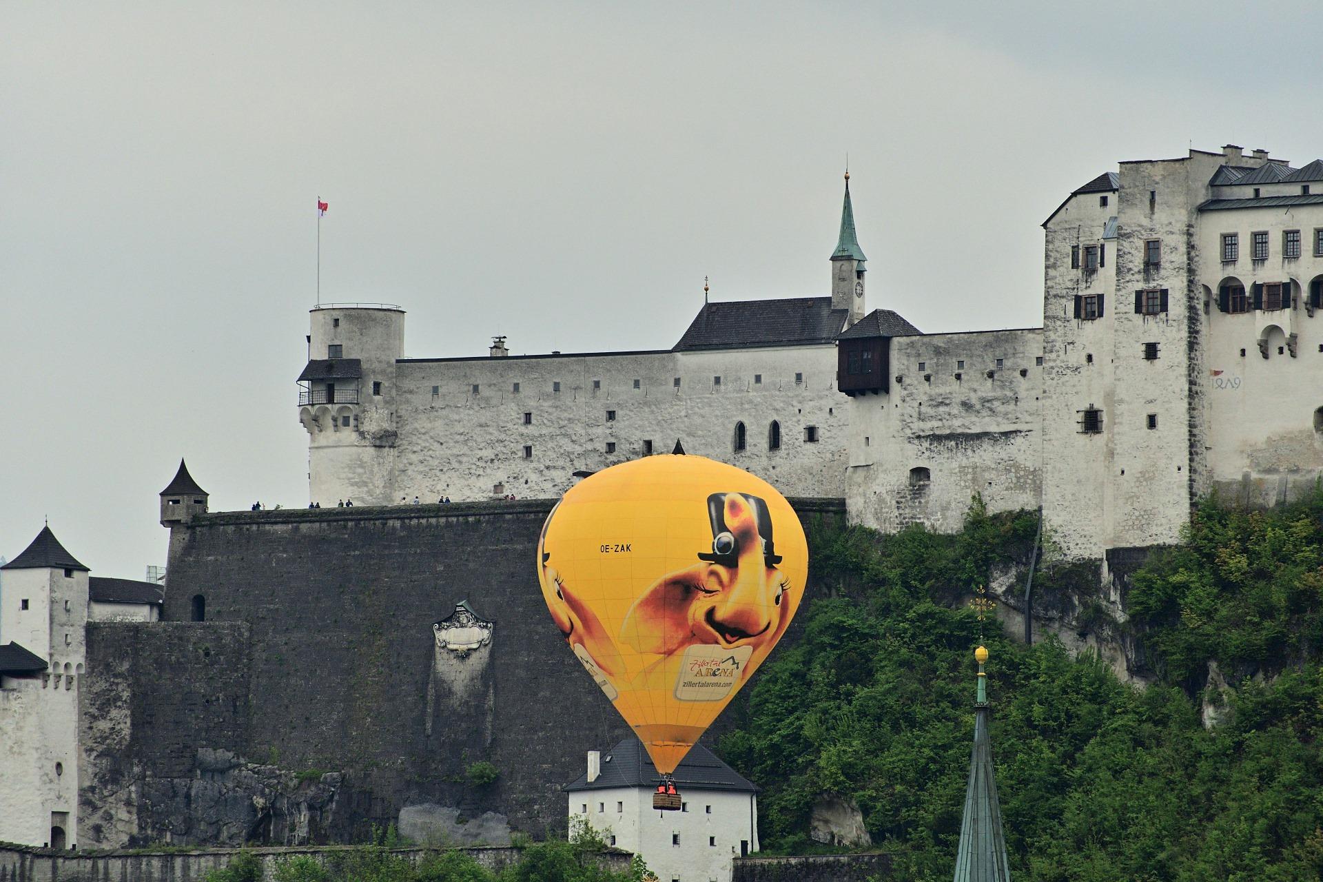 Manuel - kurz nach dem Start im Zentrum von Salzburg