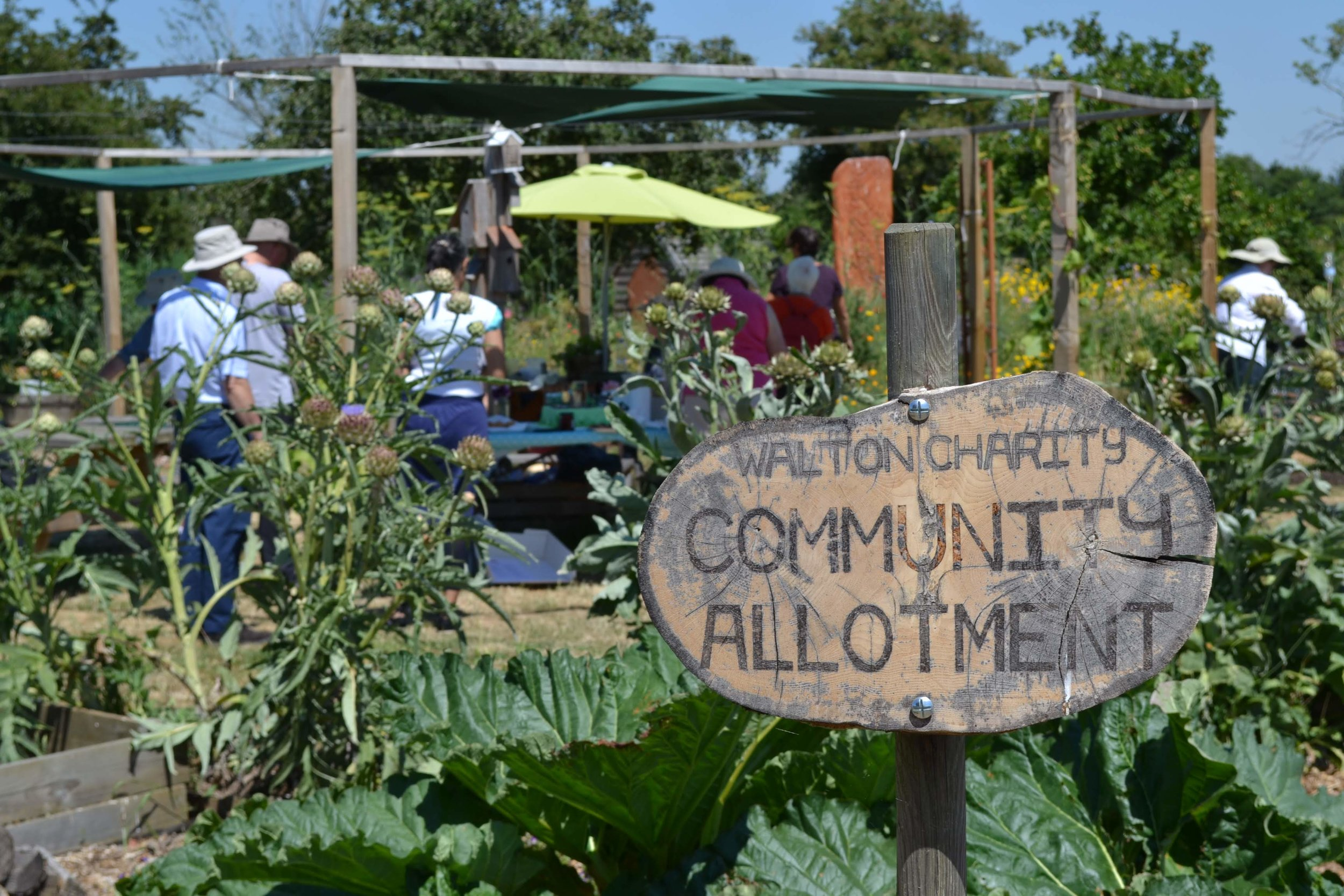Community allotment -
