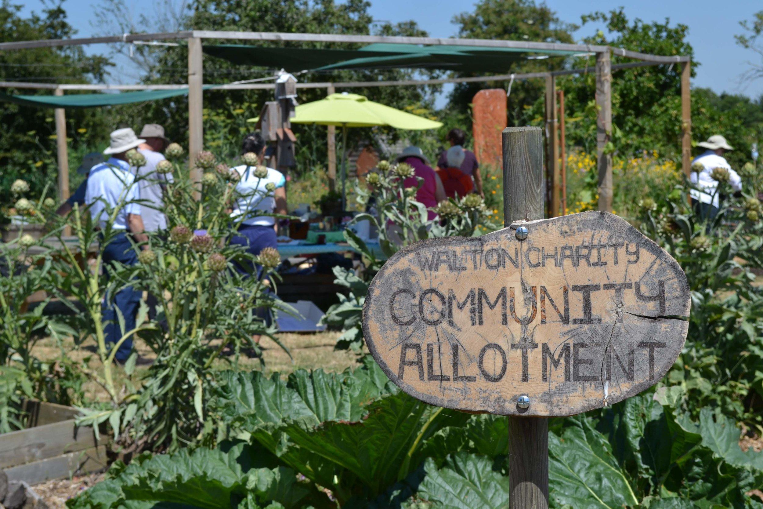 Community allotment -
