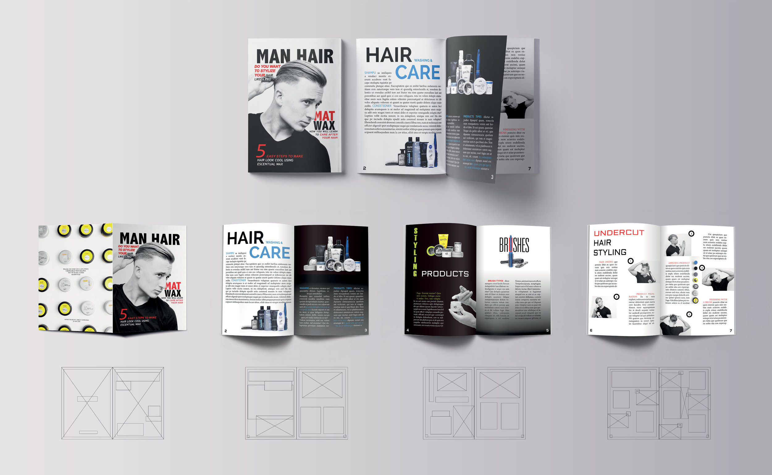 Layout Design Adrian Lesechko