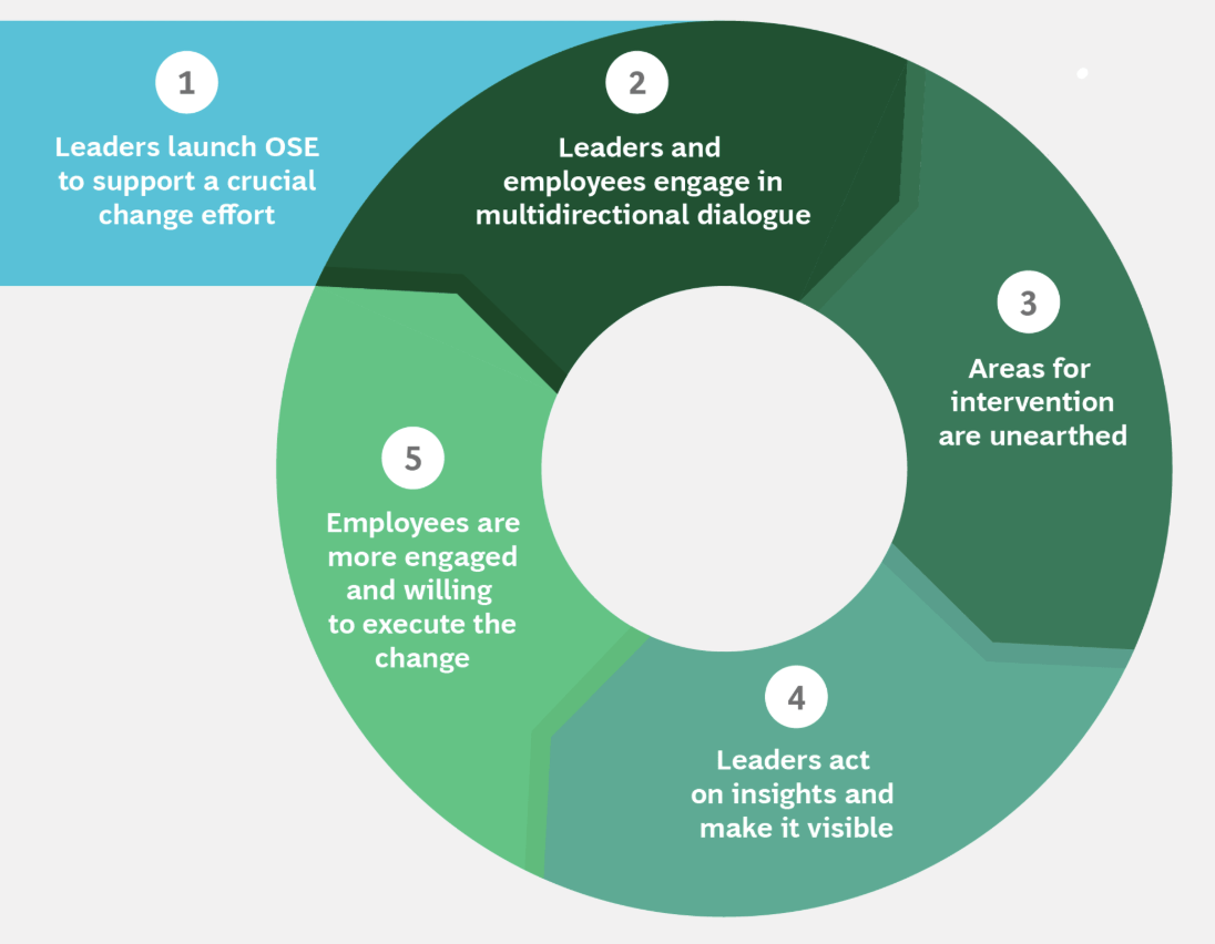 FIG 1  :  Open-Source Engagement activates a self-reinforcing engagement cycle (Source: BCG Analysis)