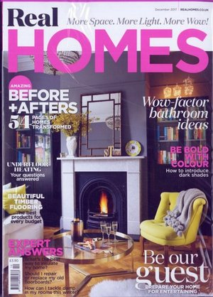 Havelock Road loft and ensuite featured in December 2017 issue of Real Homes.