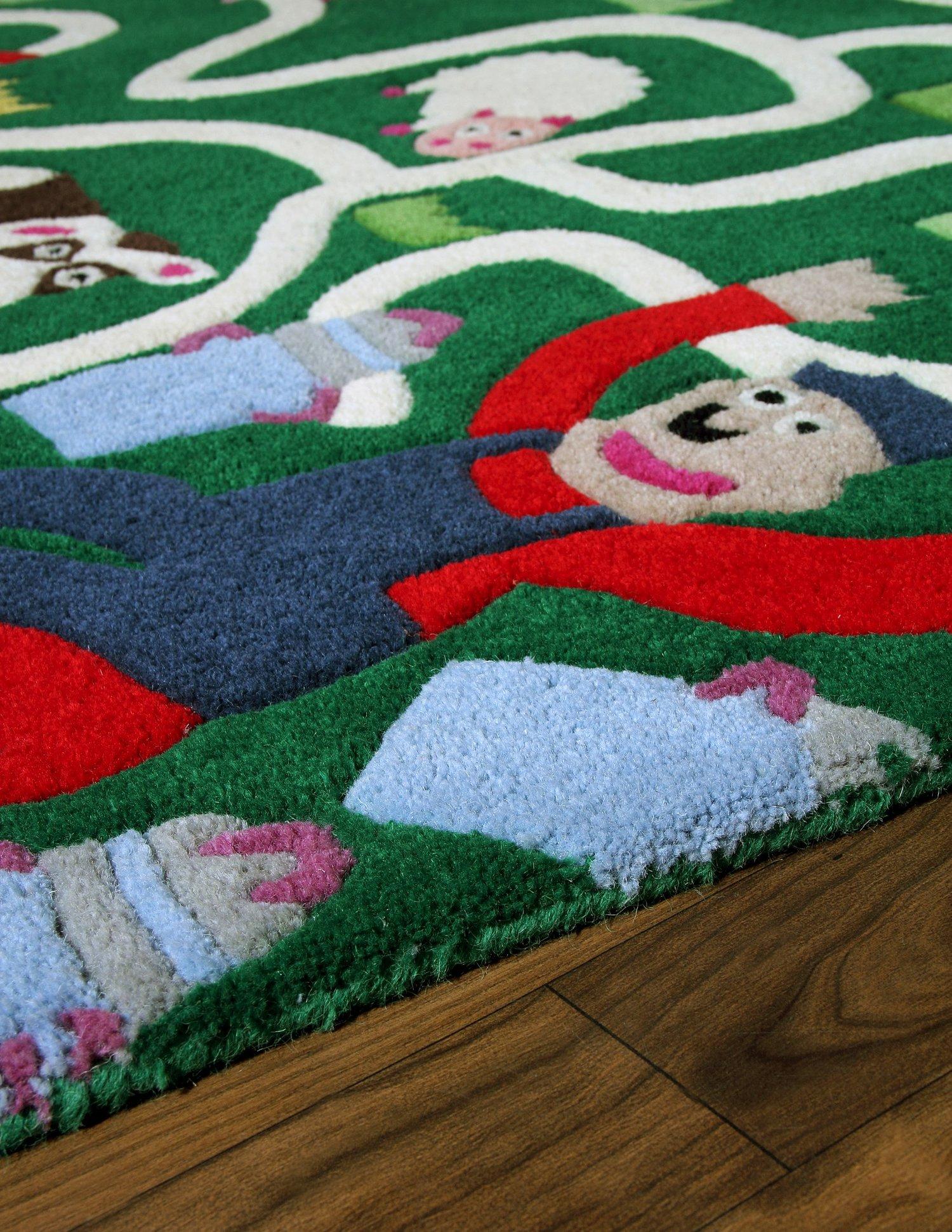 Contemporary Handmade Wool Rugs