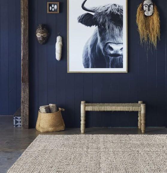 Atacama Rug by Ana & Noush Scandi Rug, Designer Rug, Modern Rug, Handmade Rug
