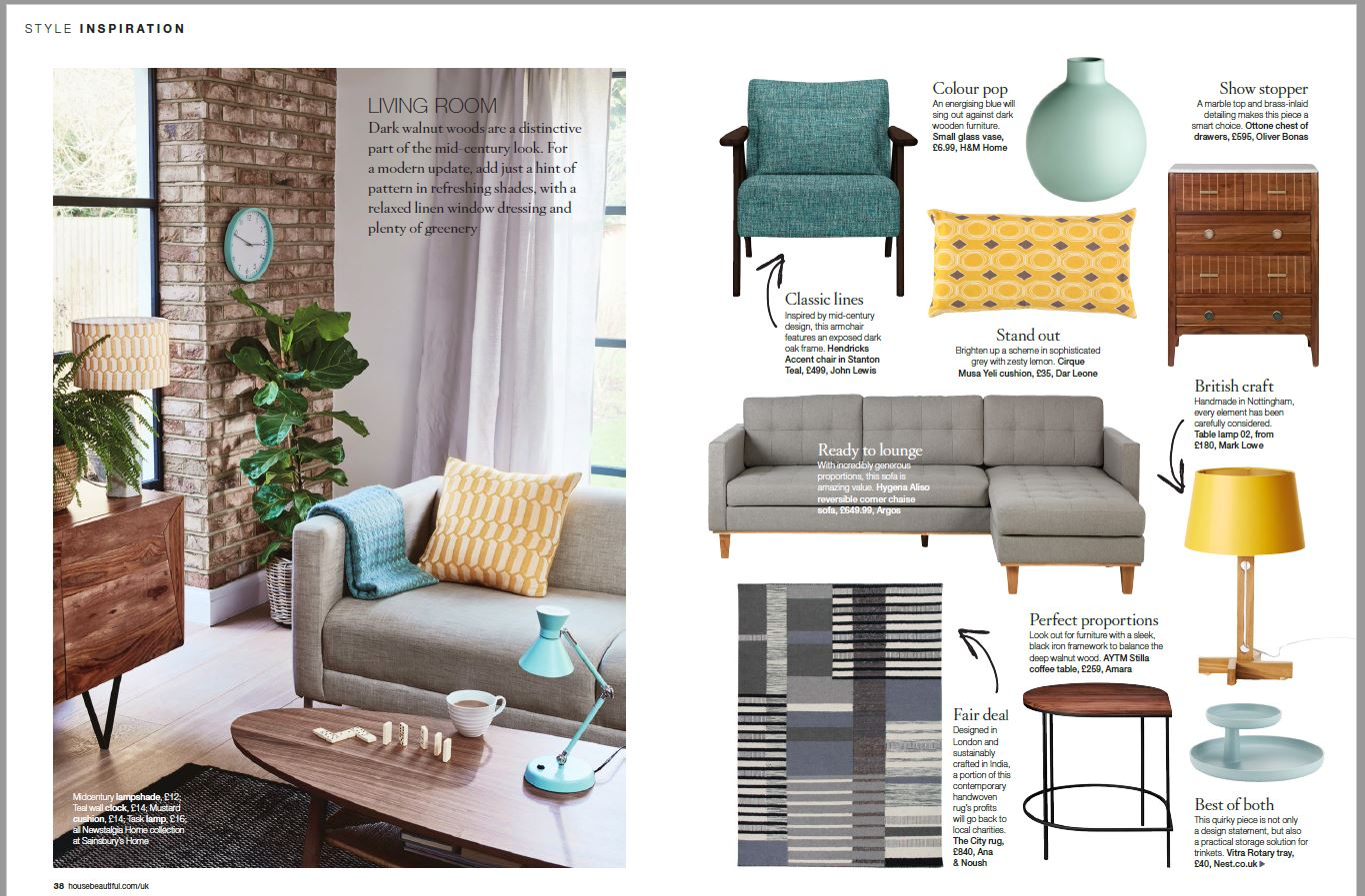 As featured in House Beautiful September 2018 -