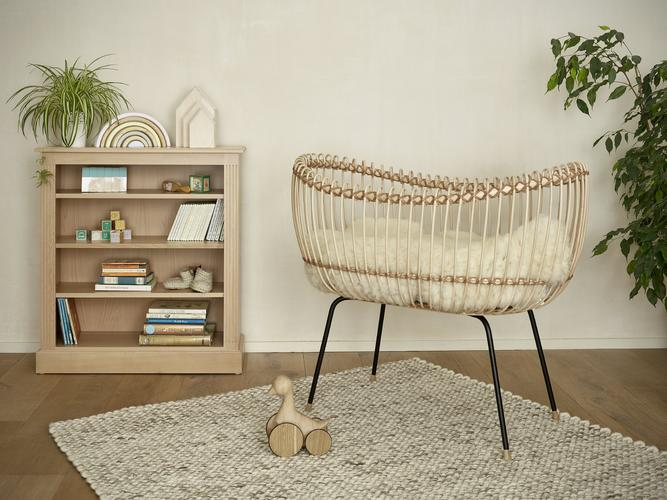 The Natural Nursery by Dragons of Walton Street featuring the Atacama Rug by Ana & Noush