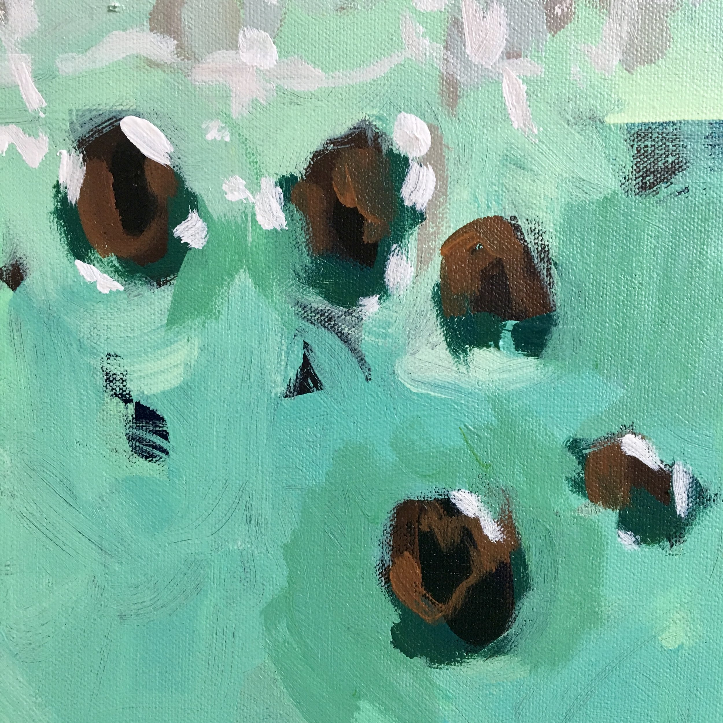 Green Dream (detail), 2018