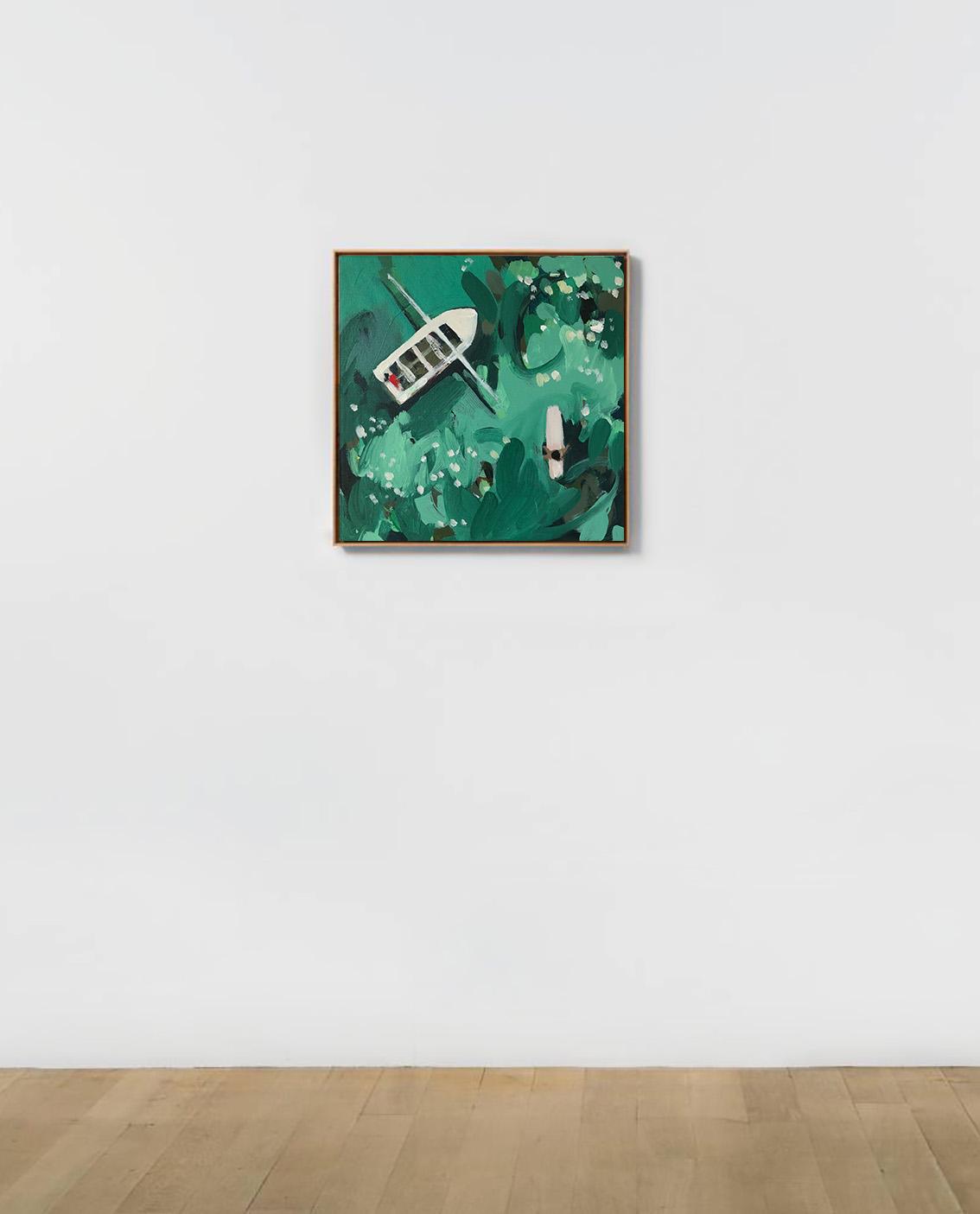 Sri Lanka Surf  Acrylic on canvas 30cm x 30cm  £500