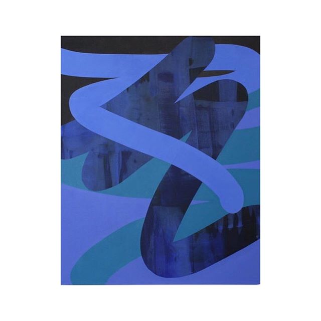 Kathryn Macnaughton - Midnight, 2019 @kathrynmac . #lavor #lavorunlimited #onlinemuseum #contemporaryart #artwork #culture #fineart #artristoftheday #artoninstagram #painting #contemporarypainting #artoftheday #abstract #abstraction #abstarctpainting