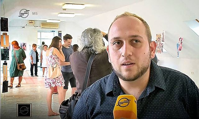 Interjú 2. - Art Camp '19 // TV - interview at the Art Camp '19 final exhibition // #gaborkoncz #artcampjaszbereny #artcamp #interview #tvinterview #m5 #tvchannel #culturalnews #cultur #aboutexhibition #exhibition #artexhibition #contemporaryexhibition