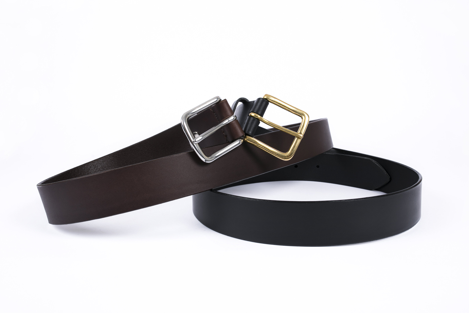 Vegetable Tanned Leather Belts