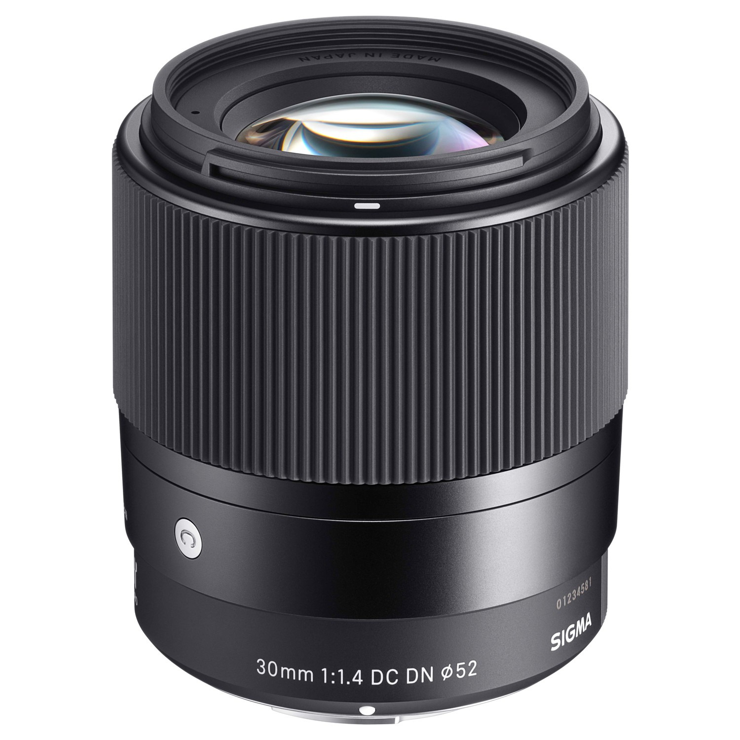 Super sharp Sigma lens with F1.4 Bokeh (45mm equivalent)
