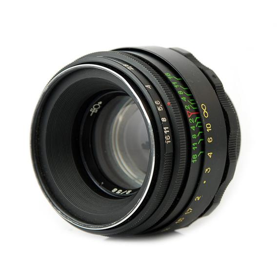 Vintage lens with characteristic Bokeh effect