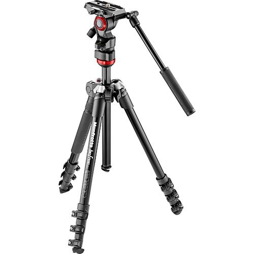 Manfrotto tripod with smooth head