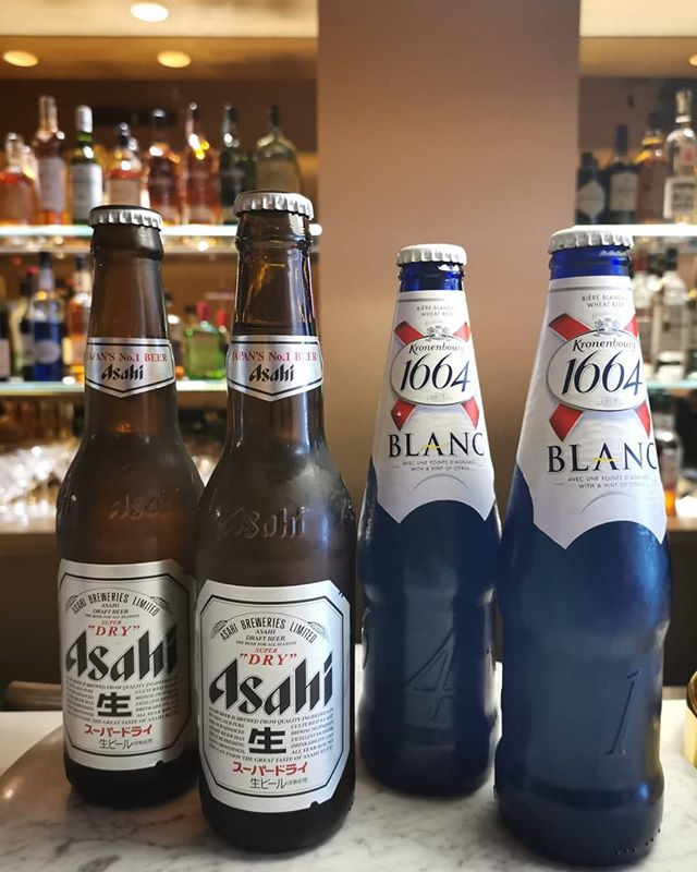 ⚡️FLASH DEALS⚡️ Quench your thirst with beers and wines only available today(22/2/19) and tomorrow(23/2/19)! 5pm to 8pm 2 btl of Asahi for $12+ 2 btl Kronenbourg Blanc $15+ 2 gls of house wine at $14+  Come have a drink with us !🍷🍷🍻