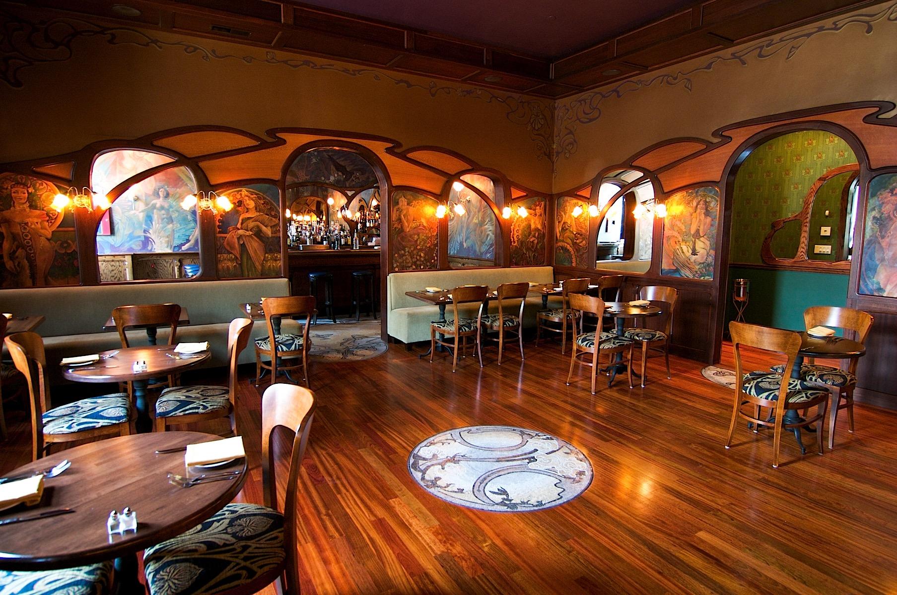 Art Nouveau Restaurant Interior Design