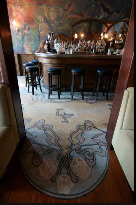 Art Nouveau Interior Design Restaurant