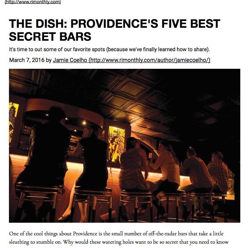 Top Secret Bar