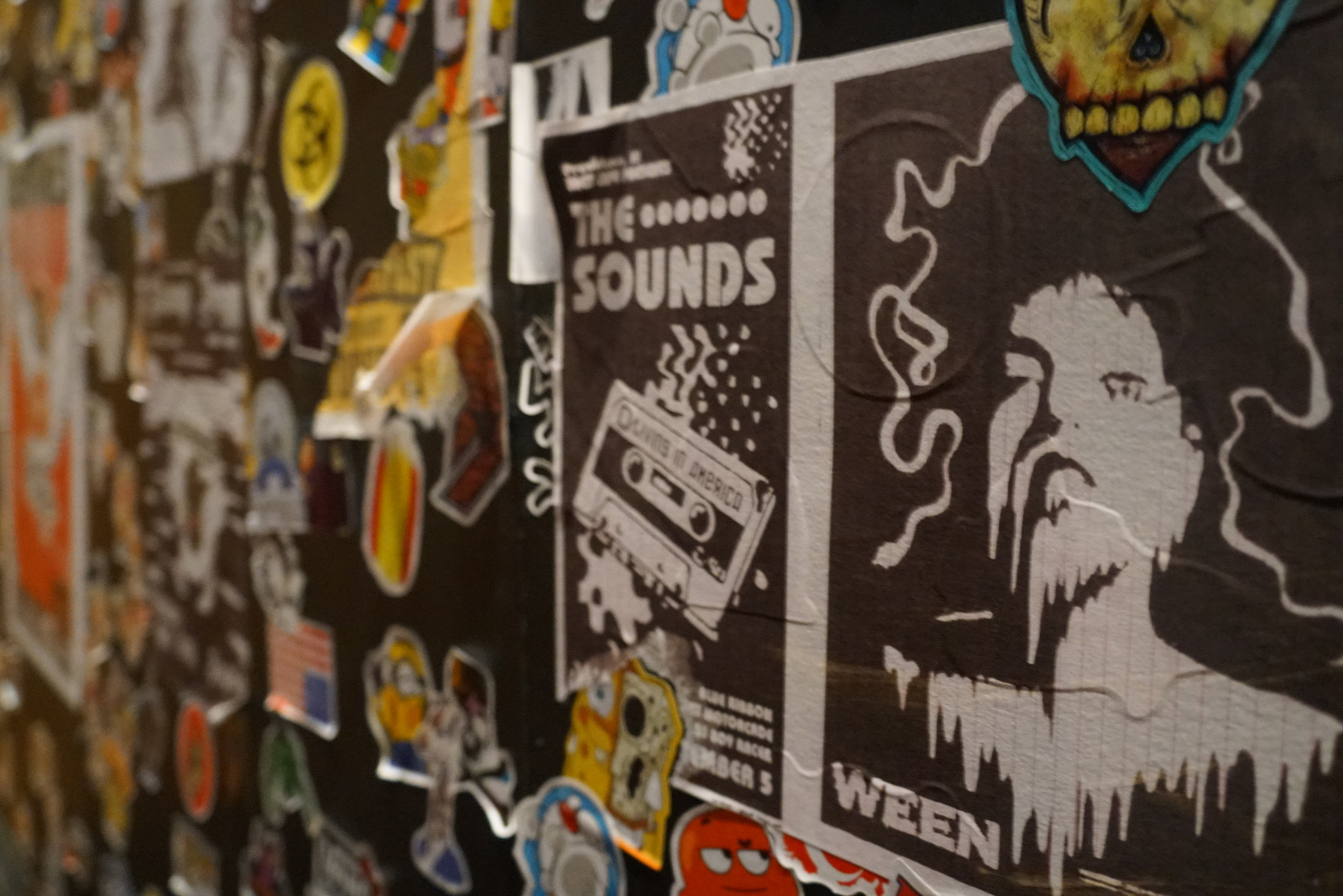 Vintage Stickers and Posters
