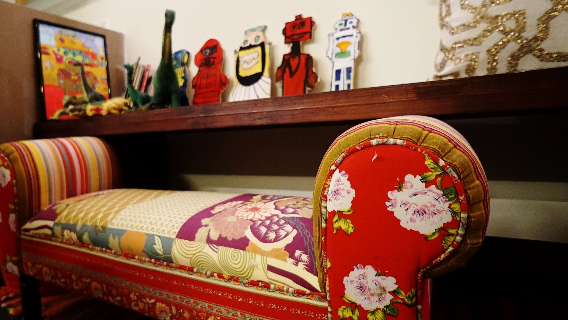 Maya Rudolph Boho-Chic Dressing Room