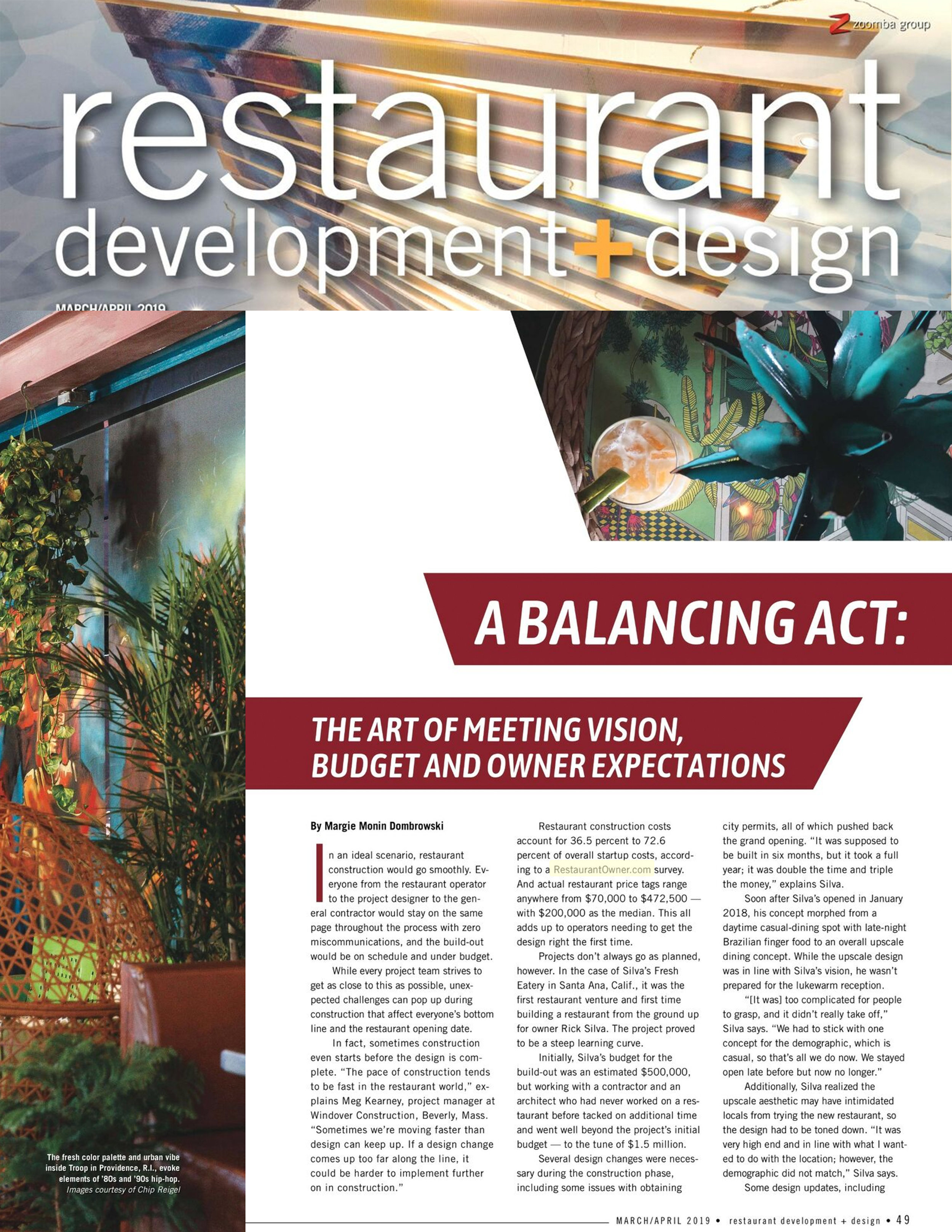 Restaurant Development & Design Magazine