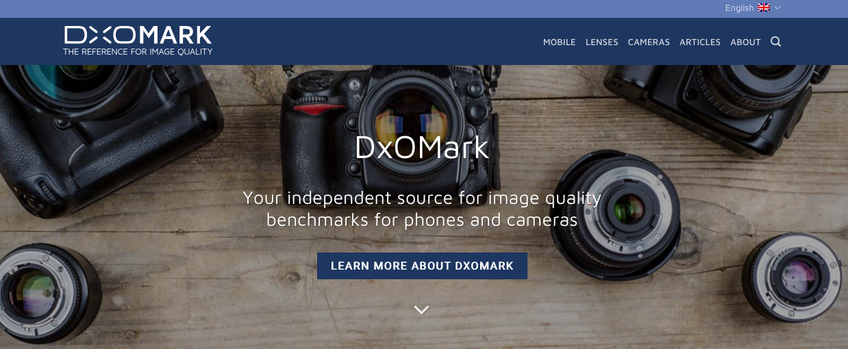 - DXOMarkCompare gear and reviews.