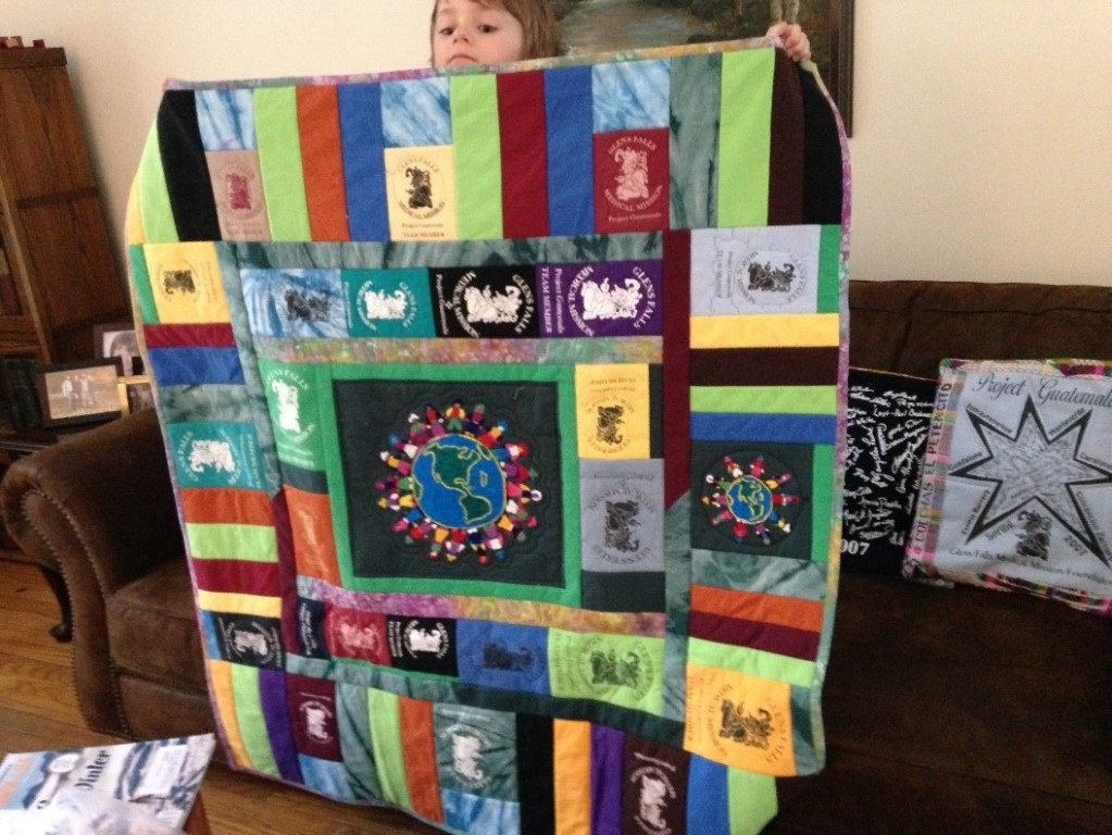 "3 Tickets for $10 - Drawing on October 7, 2019Quilt is 42"" by 26""Purchase Tickets"