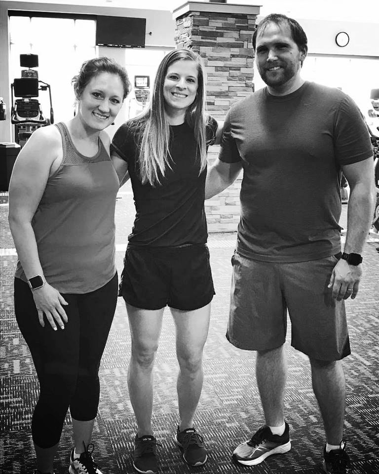 2 of my favorite personal training clients! Becoming a Certified Personal Trainer was one of the best decisions I could have made. I love helping others achieve the results and the goals they deserve, and I am incredibly grateful of the relationships that have formed because of it!