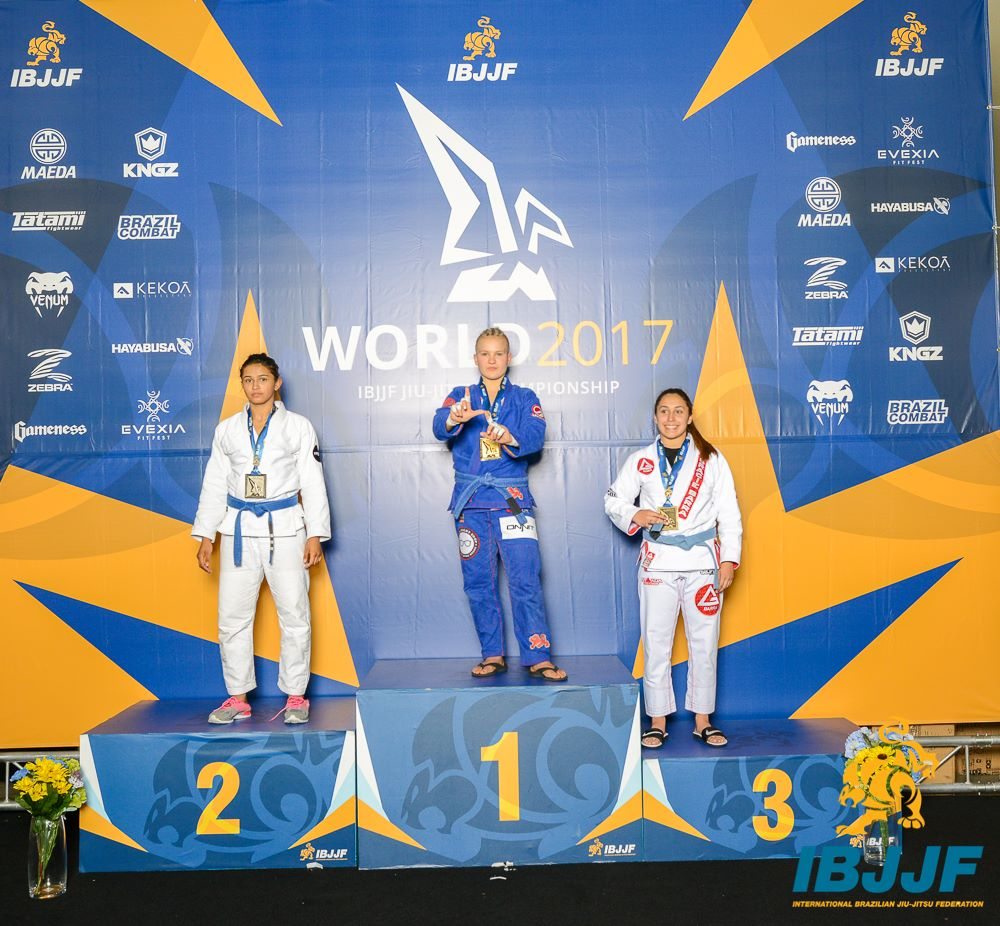 Sami Lima de Silva Galvao placed second in the Blue / Juvenile 2 / Female / Heavy Weight division