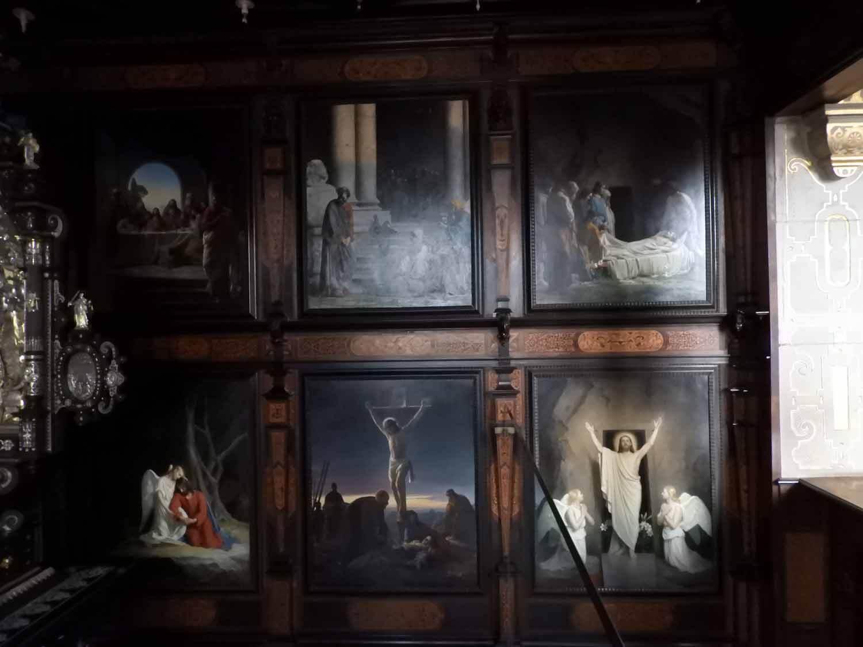 denmark-frederiksborg-slot-castle-chapel-kings-oratory-carl-bloch-painting-jesus-christ-ressurection-miracle.JPG
